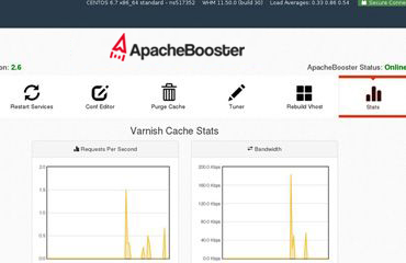 varnish cache status